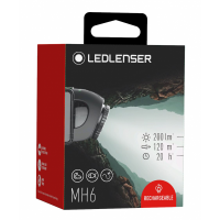 Фонарик Led lenser MH 6